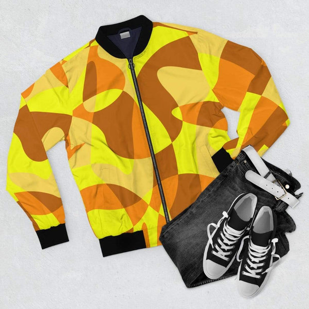 """Sandstorm"" Bomber Jacket for Men - Awesome, custom designed T-shirts & Art  