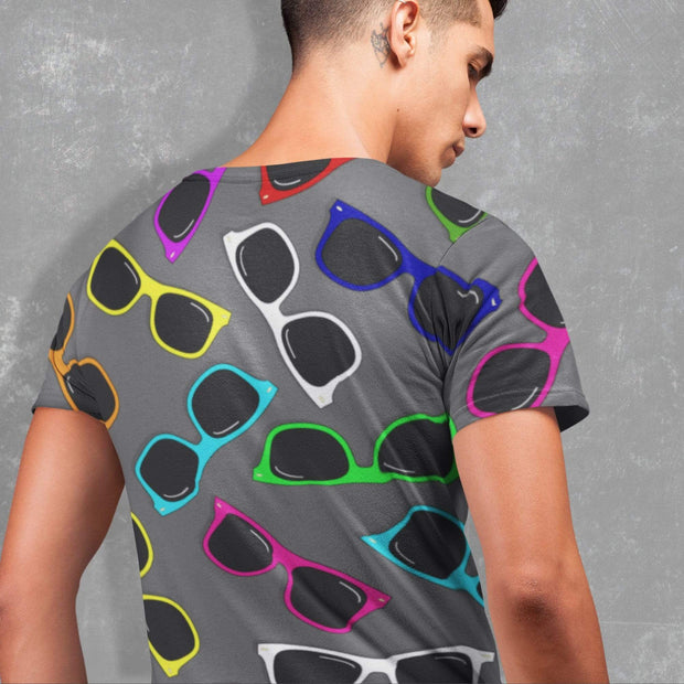 "Printify All Over Prints ""Sunglasses"" T-shirt for Men"