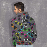 """Sunglasses"" Unisex Hoodie - Awesome, custom designed T-shirts & Art  