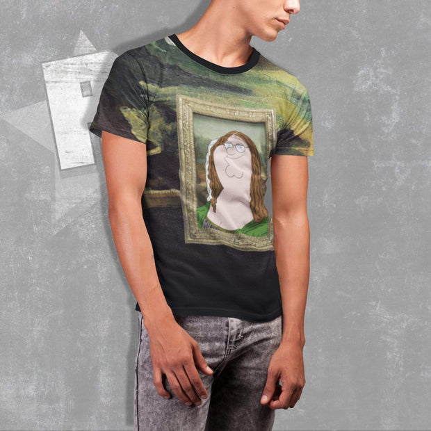 Funny Mona Lisa T-shirt | Designs by Royi Berkovitz