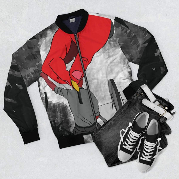 """The Employee"" Bomber Jacket for Men - Designs by Royi .B."