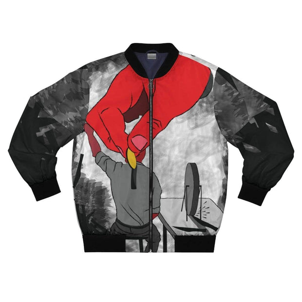"""The Employee"" Bomber Jacket for Men - Awesome, custom designed T-shirts & Art  