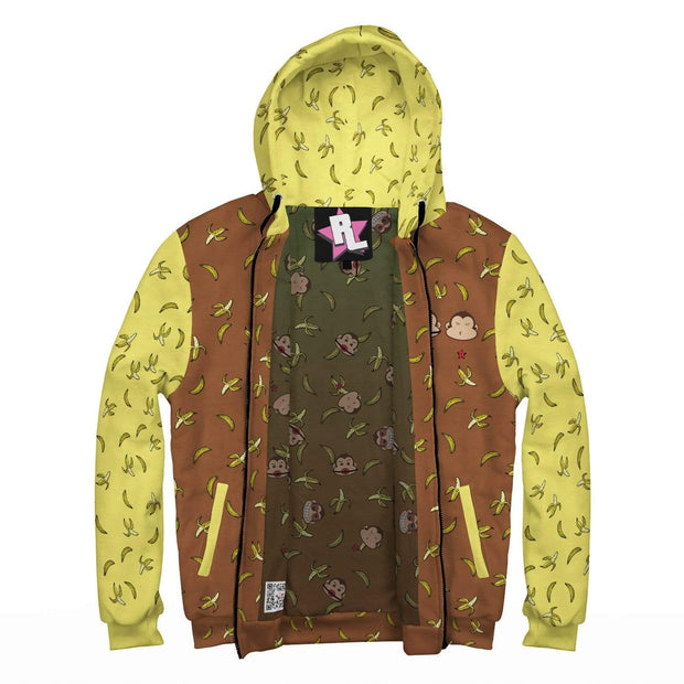 """Banana - Brown"" Custom Designed Hoodie - Awesome, custom designed T-shirts & Art  