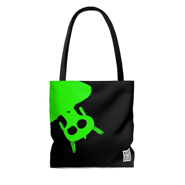 """Alien Green"" Custom Tote Bag - Awesome, custom designed T-shirts & Art  
