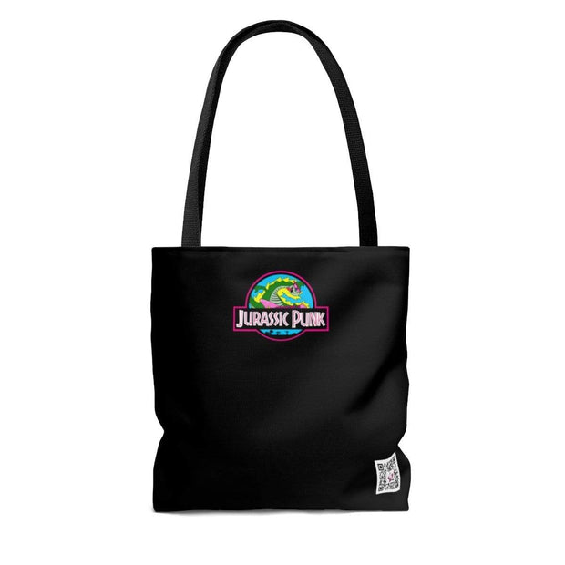 """Jurassic Punk"" Custom Tote Bag - Awesome, custom designed T-shirts & Art  