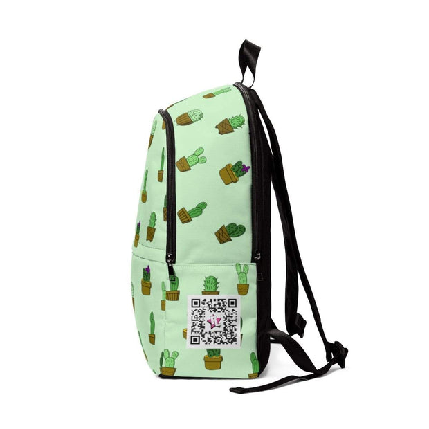 """Cactus"" - Custom Backpack - Designs by Royi .B."