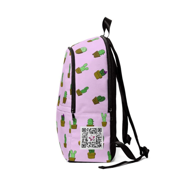 """Cactus - Pink"" - Custom Backpack - Awesome, custom designed T-shirts & Art  