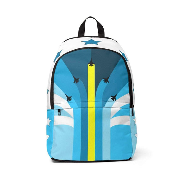 """The Air Show"" - Custom Backpack - Designs by Royi .B."