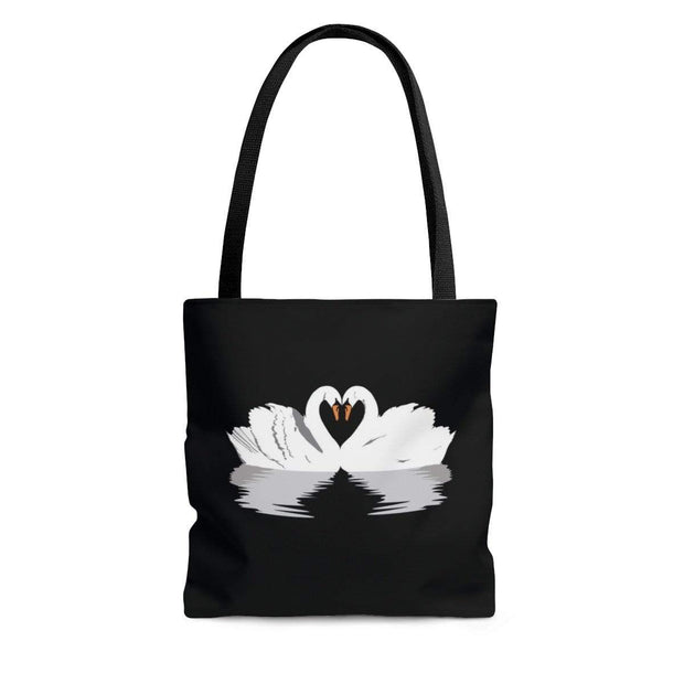 """Black Swan Love"" Custom Tote Bag - Awesome, custom designed T-shirts & Art  