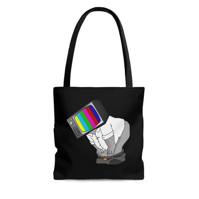"""Fart on TV"" Custom Tote Bag - Awesome, custom designed T-shirts & Art  