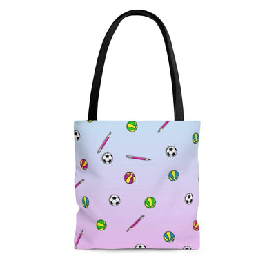 """School's Over"" Custom Tote Bag - Awesome, custom designed T-shirts & Art  