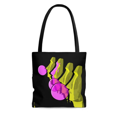 """The Moai"" Custom Tote Bag - Awesome, custom designed T-shirts & Art  