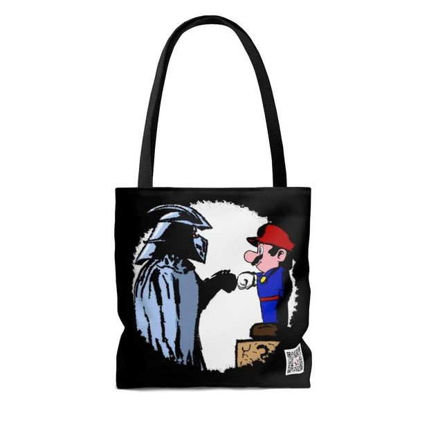 """The Fist Bump"" Custom Tote Bag - Awesome, custom designed T-shirts & Art  