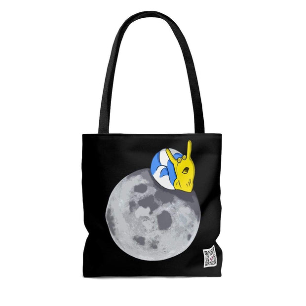 """The Snail"" Custom Tote Bag - Awesome, custom designed T-shirts & Art  