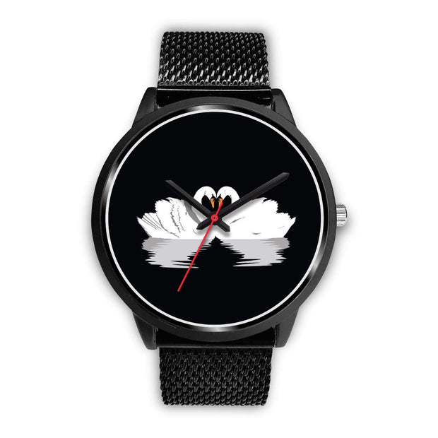 """Black Swan Love"" Custom Watch - Designs by Royi .B."