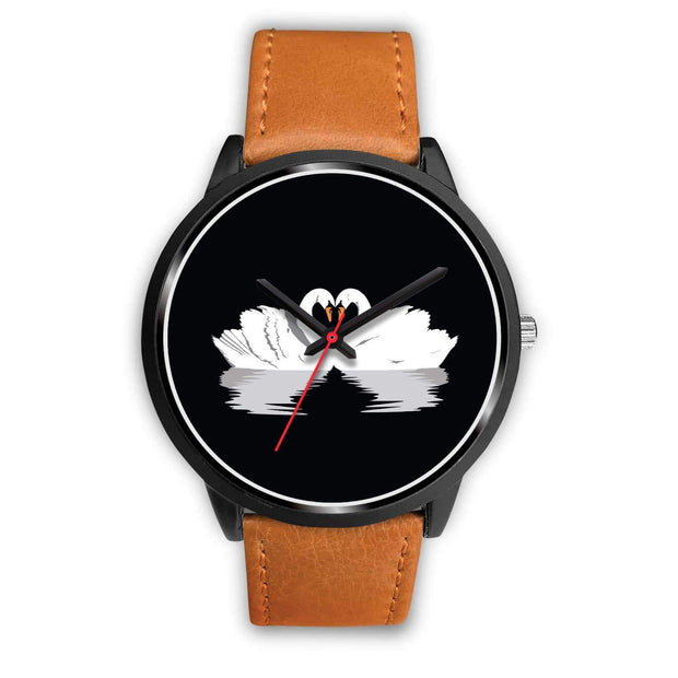 """Black Swan Love"" Custom Watch - Awesome, custom designed T-shirts & Art  