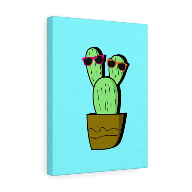 """Cactus #2"" Gallery Wrap - Awesome, custom designed T-shirts & Art  