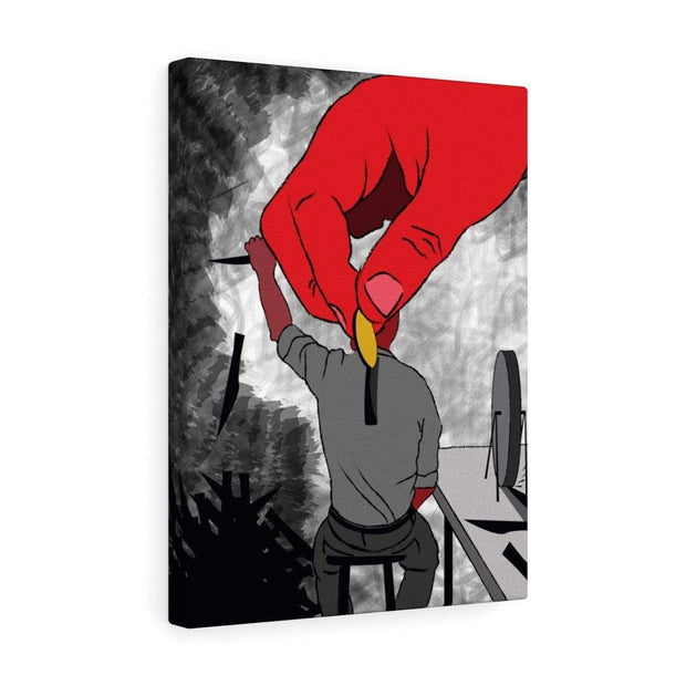 """The Employee"" Canvas Print - Designs by Royi .B."
