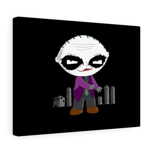 """Why So Serious?"" Canvas Print - Designs by Royi .B."