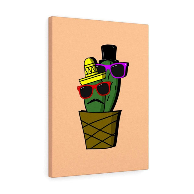 """Cactus #6"" Gallery Wrap - Awesome, custom designed T-shirts & Art  