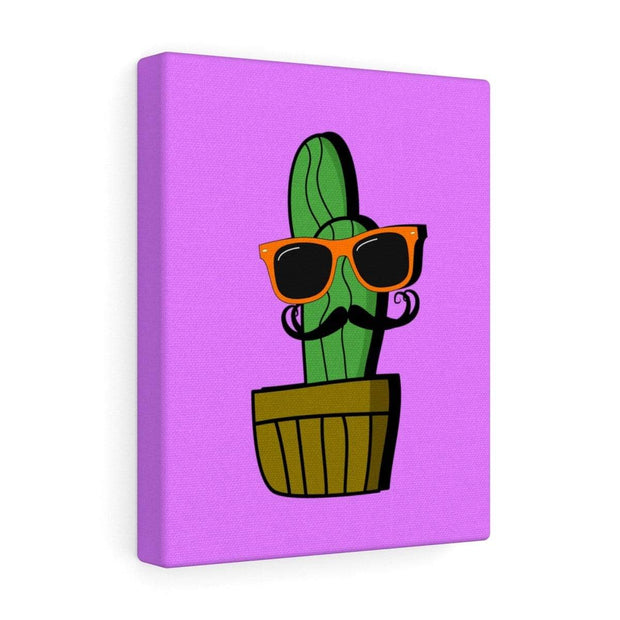 """Cactus #4"" Gallery Wrap - Awesome, custom designed T-shirts & Art  