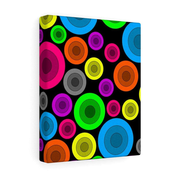 """Circles"" Gallery Wrap - Awesome, custom designed T-shirts & Art  