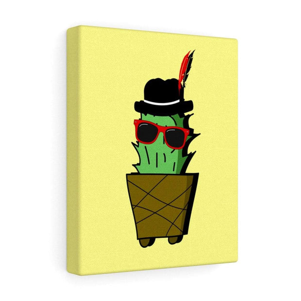 """Cactus #3"" Gallery Wrap - Awesome, custom designed T-shirts & Art  