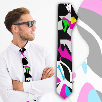 """Abstract"" Slim Necktie - Awesome, custom designed T-shirts & Art  
