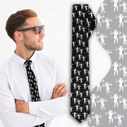 """Alien Cave Drawings"" Slim Necktie - Awesome, custom designed T-shirts & Art  