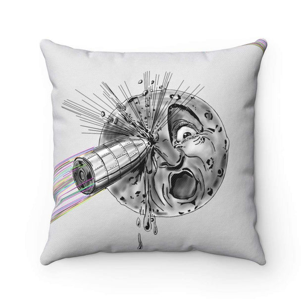 """A Trip to the Moon"" Pillow - Designs by Royi .B."