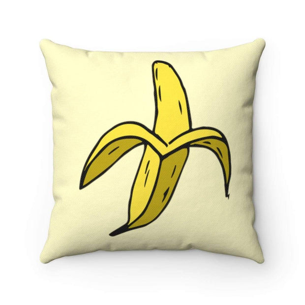 """Banana #2""  Pillow - Designs by Royi .B."