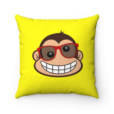 """Monkey #1"" Pillow - Awesome, custom designed T-shirts & Art  