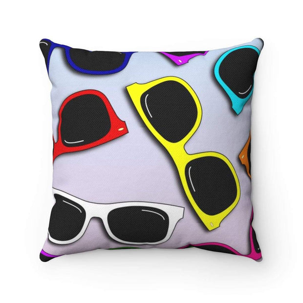 """Sunglasses in Color""  Pillow - Awesome, custom designed T-shirts & Art  