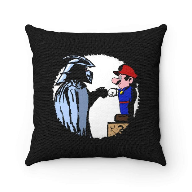 """The Fist Bump"" Pillow - Awesome, custom designed T-shirts & Art  