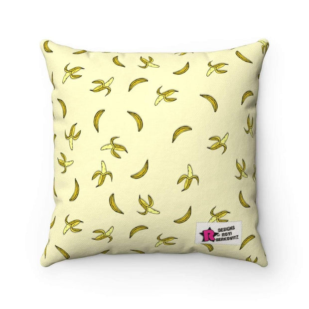 """Banana #1""  Pillow - Awesome, custom designed T-shirts & Art  