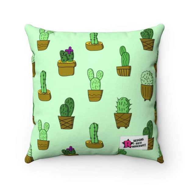 """Cactus #2""  Pillow - Awesome, custom designed T-shirts & Art  