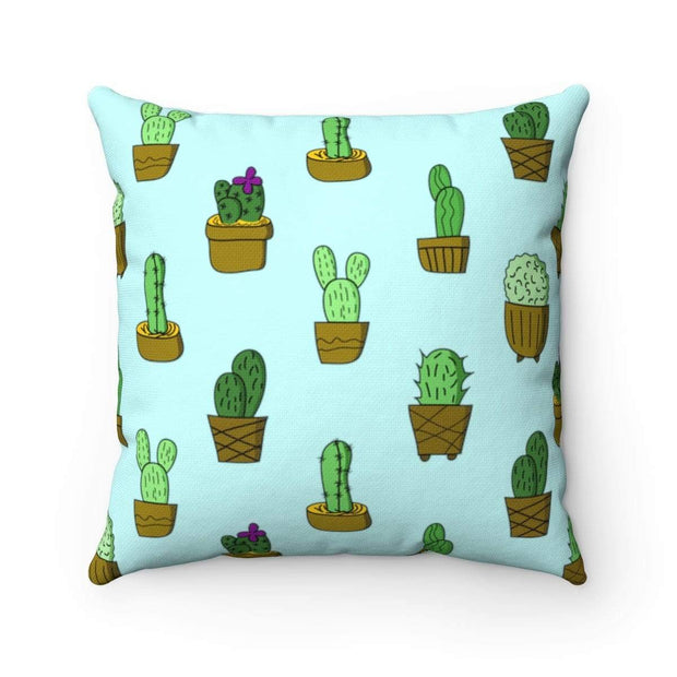 """Cactus #3""  Pillow - Awesome, custom designed T-shirts & Art  