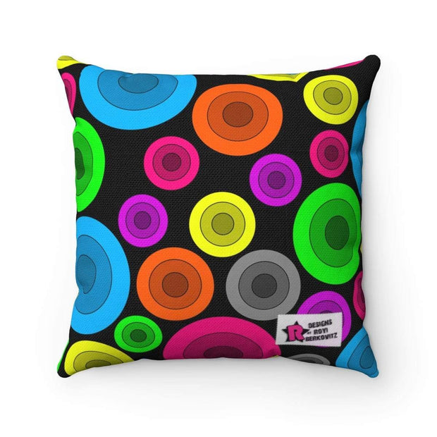 """Circles"" Pillow - Designs by Royi .B."
