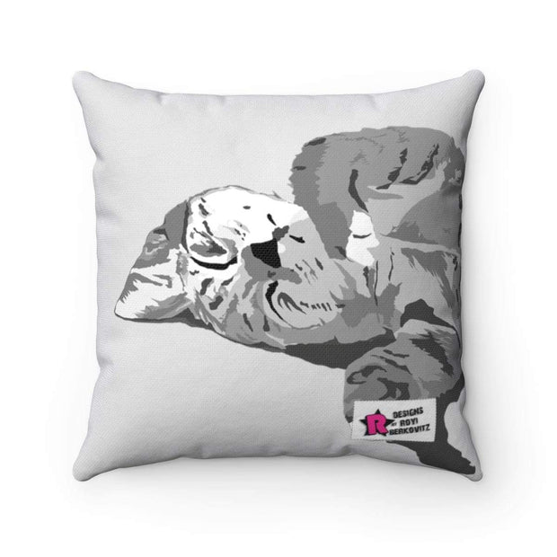 """Sleeping Cutie"" Pillow - Designs by Royi .B."