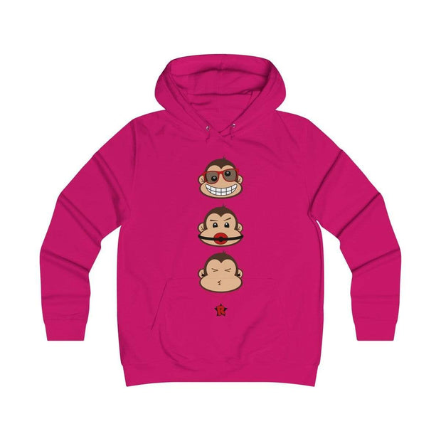 """The 3 Monkeys"" Unisex Hoodie - Awesome, custom designed T-shirts & Art  