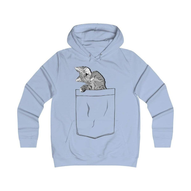 """Pocket Cat"" Unisex Hoodie - Awesome, custom designed T-shirts & Art  