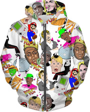"""Back to the 90's Party!"" Unisex Hoodie - Awesome, custom designed T-shirts & Art  