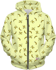 """Banana"" Unisex Hoodie - Awesome, custom designed T-shirts & Art  