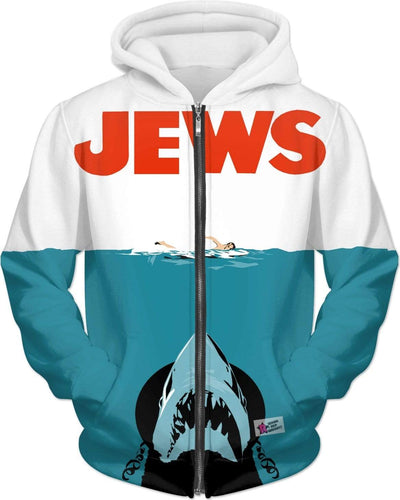 """Jews"" Unisex Hoodie - Awesome, custom designed T-shirts & Art  