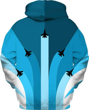 """The Air Show"" Unisex Hoodie - Awesome, custom designed T-shirts & Art  