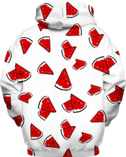 """Watermelon"" Unisex Hoodie - Awesome, custom designed T-shirts & Art  