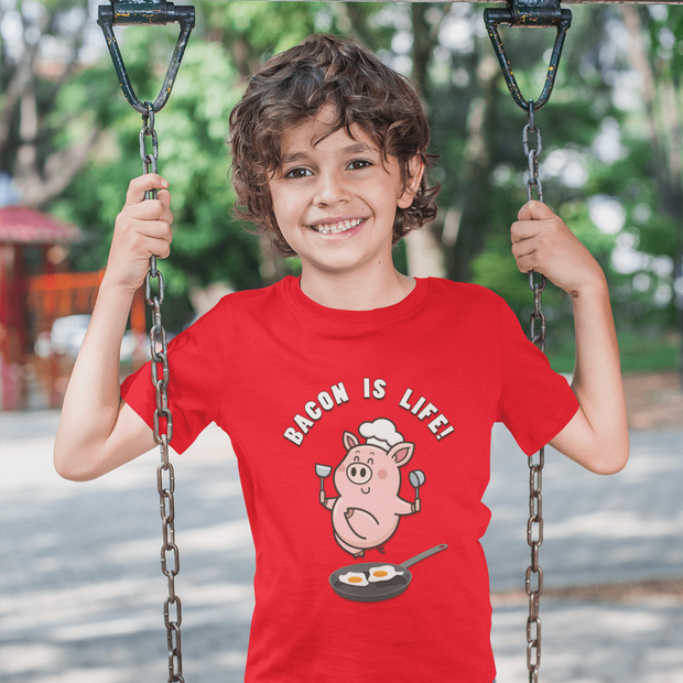 Funny Pig T-shirt for Kids | Designs by Royi Berkovitz