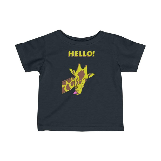 """Hello!"" Baby tee - Awesome, custom designed T-shirts & Art  