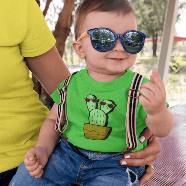 """Cactus #2"" Baby tee - Awesome, custom designed T-shirts & Art  