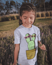 """Cactus #2"" T-shirt for Kids - Awesome, custom designed T-shirts & Art  
